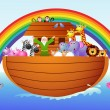 Vector de stock : Noah Ark