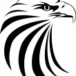Eagle head - Stock Vector
