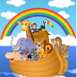 Noah Ark — Stock Vector #3667067