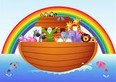 Noah Ark — Stock Vector