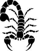 Scorpion tatoo — Wektor stockowy