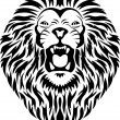 Royalty-Free Stock Vectorielle: Lion tattoo