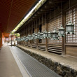 Stock Photo: Lanterns in shrine - Nara, Japan