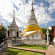 Wat Phra Singh temple - Thai — Stock Photo