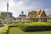 Wat Rajanadda temple - Bangkok, Thailand — Stock Photo