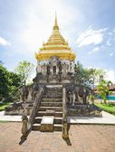 Chiang Man temple, Thailand — Stock Photo