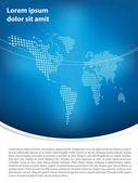 Brochure design — Stock Photo