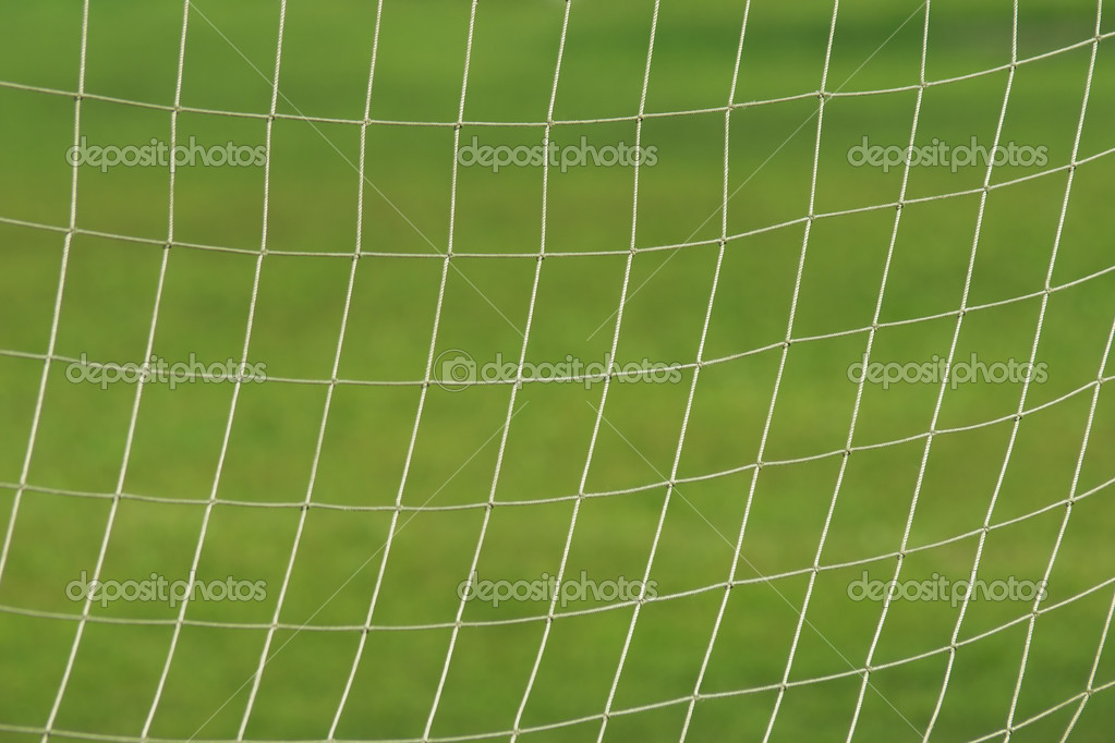 Net  on the soccer gate — Stock Photo #2782226