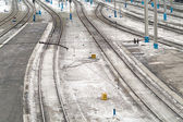 Railroad ways — Stock Photo