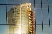 Edificio espejo — Foto de Stock