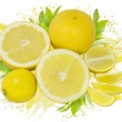 Lemonade splash — Stock Photo