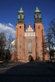 Cathedral Church in Poznań — Stock Photo