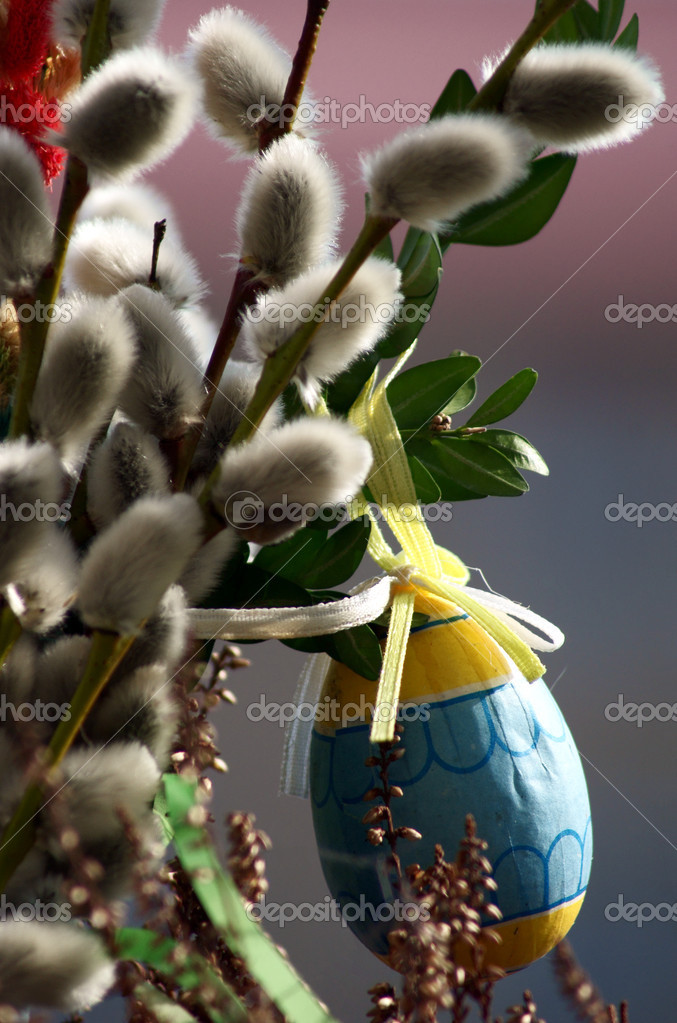 Bouquet for Easter — Stock Photo #2780826