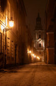 Old Market at night — Stock Photo