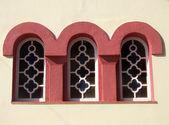 三个窗口 — 图库照片