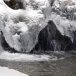 Stock Photo: Frozen stream