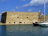 Venetian fortress of Koules — Stock Photo