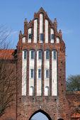 Gothic gateway — Stock Photo
