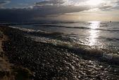 Pláž na večer — Stock fotografie