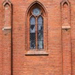 Gothic window - Stock Photo