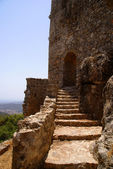 Stairs to the castle — Stock Photo