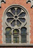 Gothic window — Stock Photo