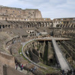Rome: ruins of ancient romforum — Stock Photo #3607374