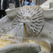 Piazza Espagna fountain — Stock Photo