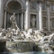 THE FOUNTAINS OF TREVI IN ROME, ITALY — Stockfoto