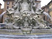 Fontana del Pantheon, Rome Italy — Stock Photo