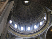 Rome: St. Peters Dome — Stock Photo