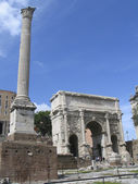 The Roman Forum in Rome, Italy. — Stock Photo