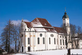 The Wieskirche in Bavary, Germany — Stock Photo