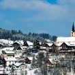 The town of Oberstaufen, Allgau, Germany — Stock Photo