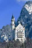 The castle of Neuschwanstein, Fuessen, Gerrmany — ストック写真