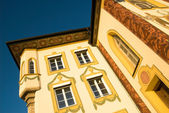 Painted house in Bad Tölz, Germany — Stock Photo