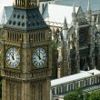 The big ben tower in London, United Kingdom — Stock Photo #3633292