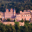 ストック写真: Red Castle in Heidelberg, Germany