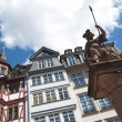 Frankfurt, traditional houses in the Römer — Foto Stock