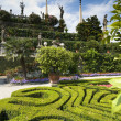 Stock Photo: Baroque gardens of isolbella, Lagomaggiore