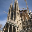 The Sagrada Familia — Lizenzfreies Foto