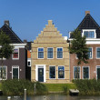 TRADITIONAL HOUSES IN NETHERLANDS - Stock Photo