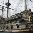 Stockfoto: Old pirate ship