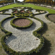 The baroque gardens of Schwetzingen — Stock Photo