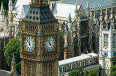 The big ben tower in London, United Kingdom — Stok fotoğraf