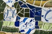 The Park Güell, Detail — Stock Photo
