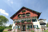 Traditional bavarian House — Stock Photo