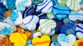 Hearth stones, colored — Stock Photo