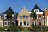 TRADITIONAL HOUSES IN NETHERLANDS — Стоковое фото
