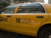 Typical New York Cab — Stock Photo
